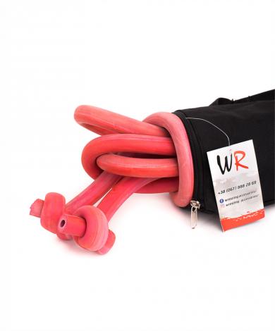 Борцовский жгут 18 мм (красный) Все для борьбы | Wr-Wrest