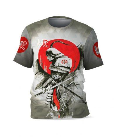Компрессионная футболка Самурай Все для борьбы | Wr-Wrest